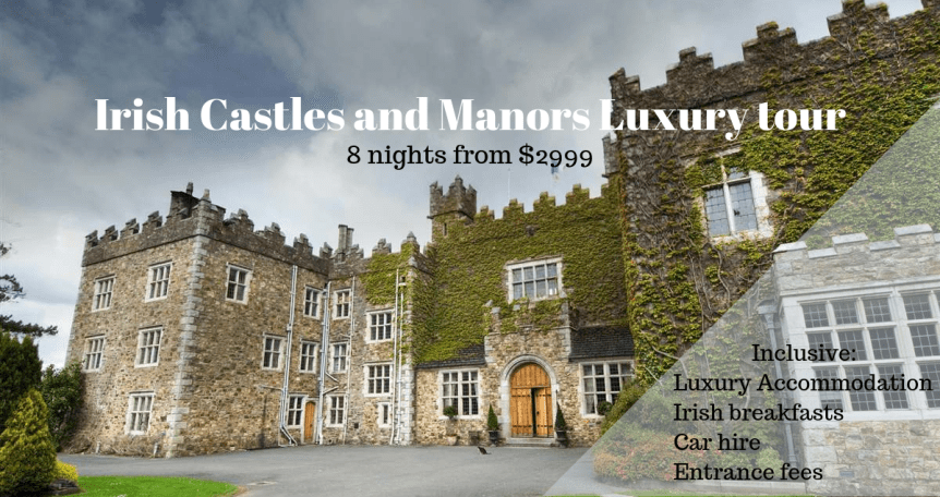 Irish Castles and Manors tour