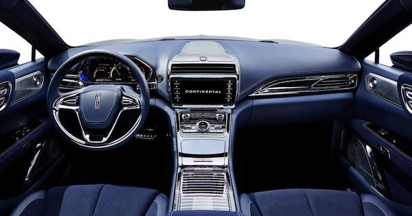 Luxury is everywhere in new Lincoln Continental concept
