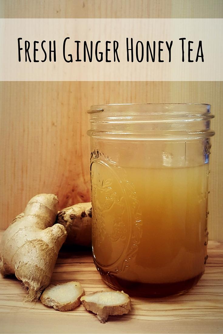 Fresh Ginger Honey Tea