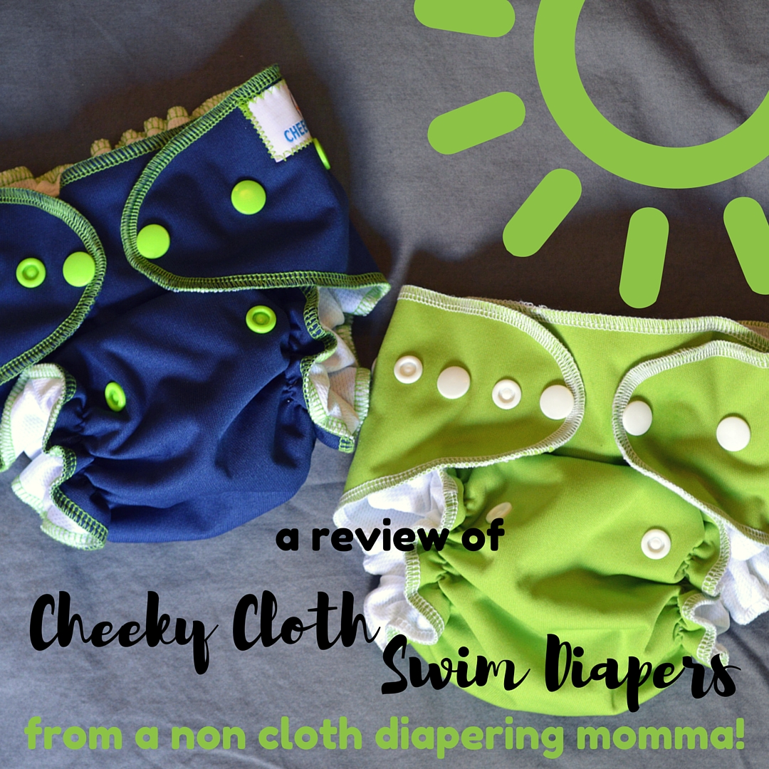 Cheeky Cloth Swim Diapers