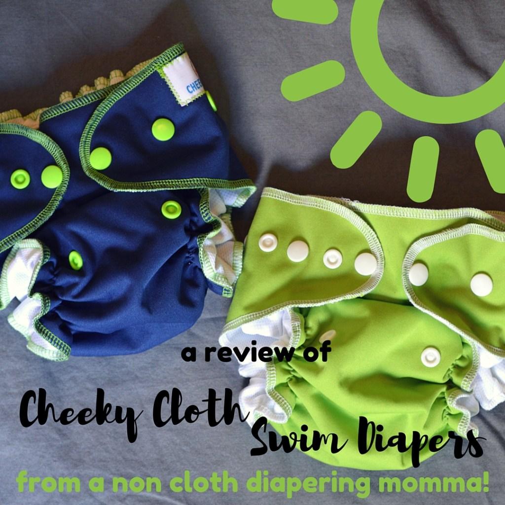 Cheeky Cloth Swim Diapers 1