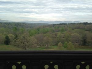View of the Blue Ridge Mountains from Biltmore House