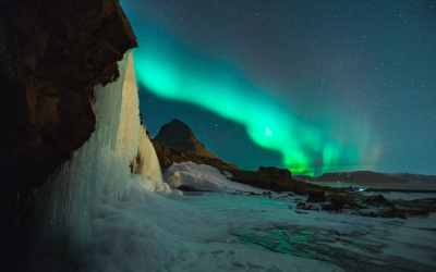 See the Northern Lights in Reykjavik for less than £300