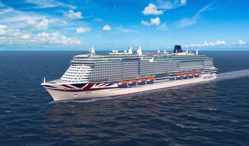 P&O cruises winter 2022
