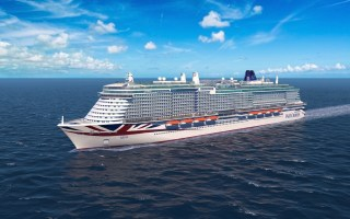 P&O cruises winter 2022
