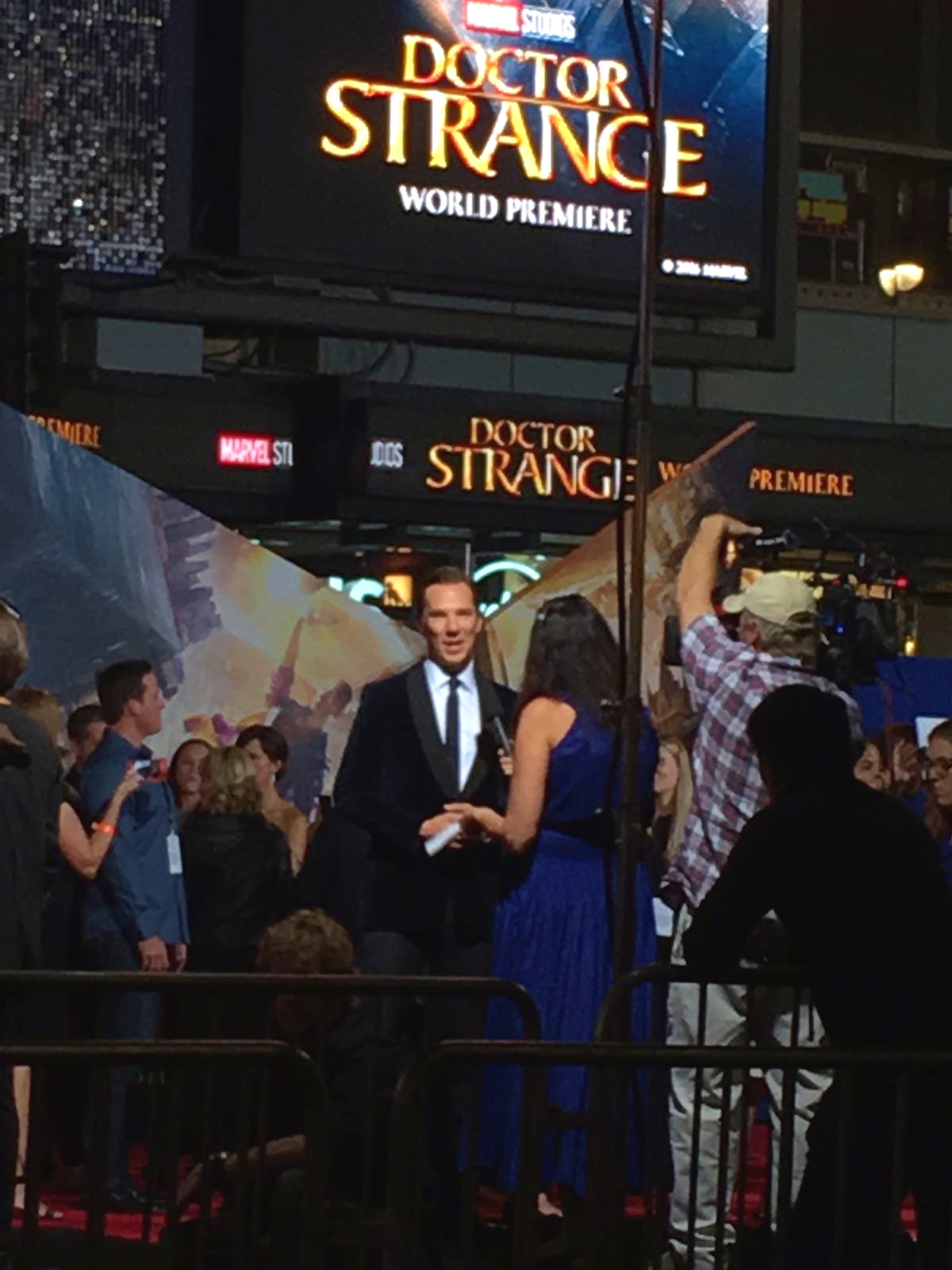 How to attend a red carpet event in Los Angeles. Benedict Cumberbatch