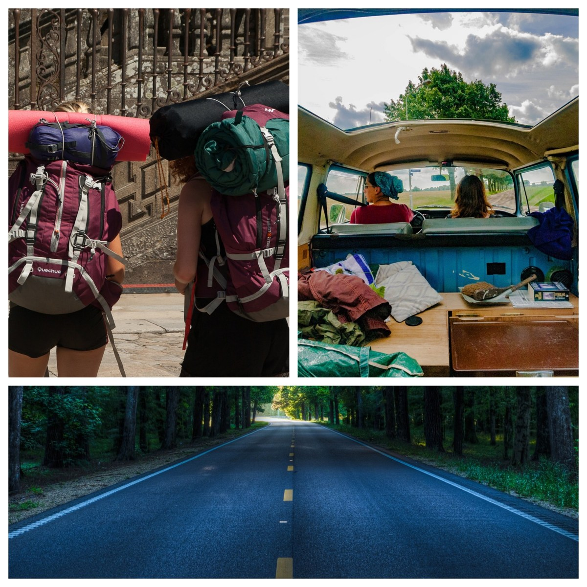 Roadtripping vs Backpacking