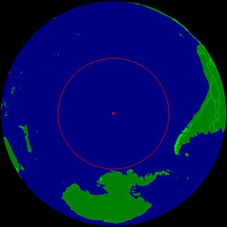 Coordinates 48° 52′ 36″S 123° 23′ 36″W Image Credit: Timwi/Wikipedia