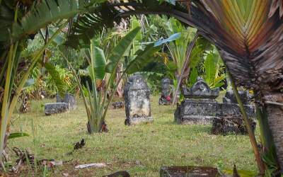 Fifteen men on a dead man's chest: A visit to the world's only pirate cemetery
