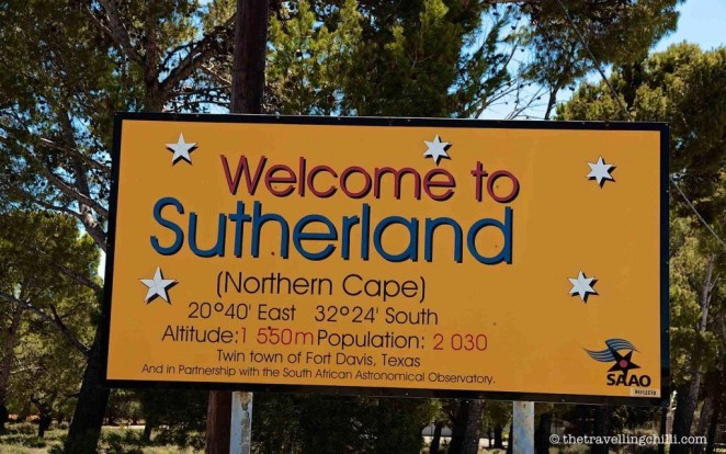 sutherland south africa stargazing