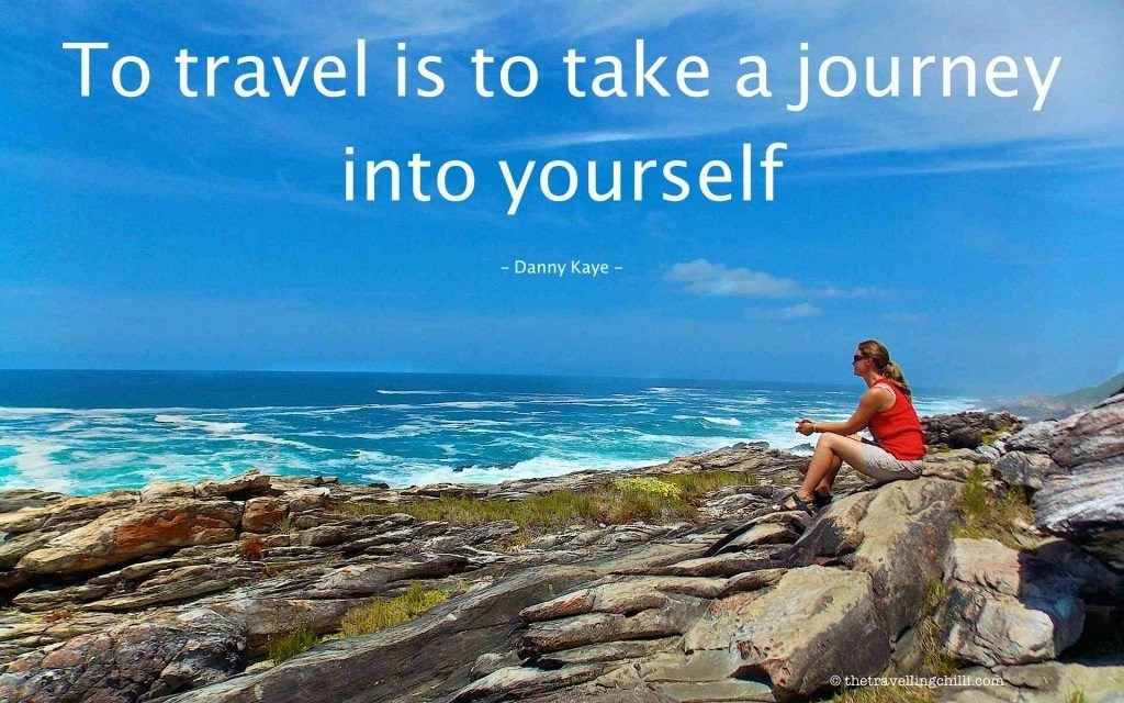 to travel is to take a journey into yourself south africa