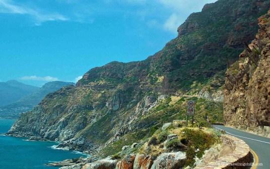 chapmans peak peninsula south africa