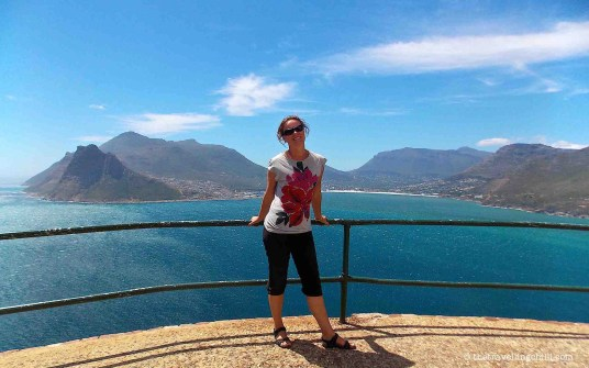 chapmans peak peninsula south africa houtbay