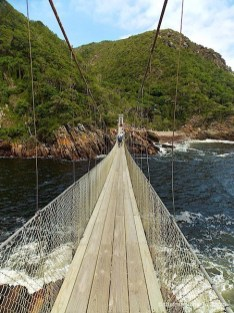 Suspension bridge Storms River Tsitsikamma