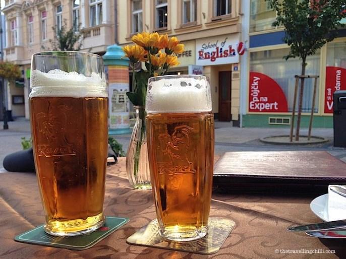 Beer Karlovy Vary Carlsbad