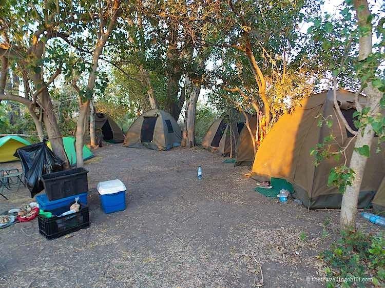 Camping Okavango Delta Botswana