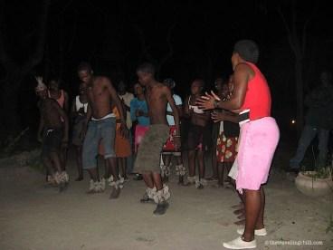Dancers Okavango Delta Botswana