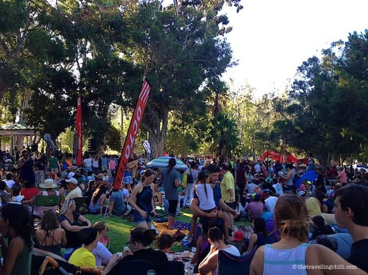 Concerts in the park De Waal Cape Town
