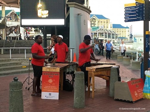 V&A Waterfront Street artists Cape Town