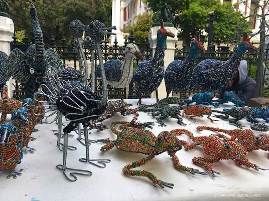 wire and bead art cape town souvenir