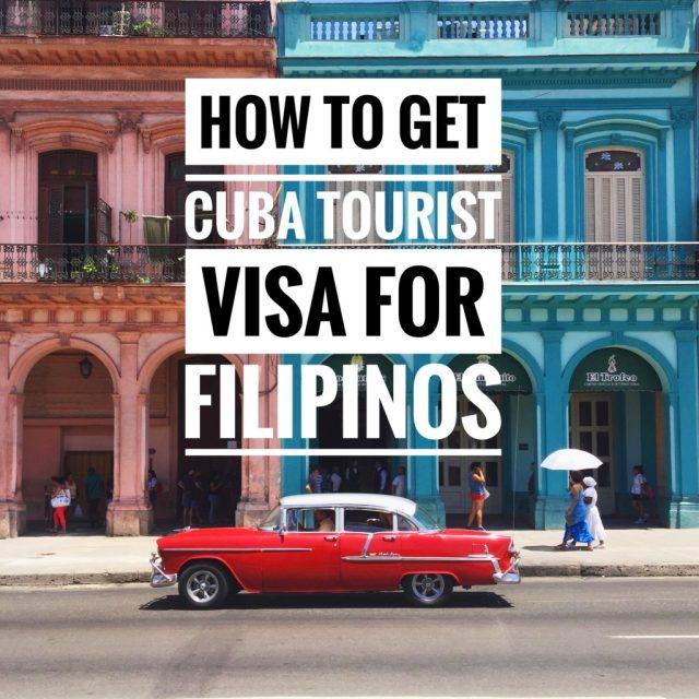 cuba tourist visa for filipino 1