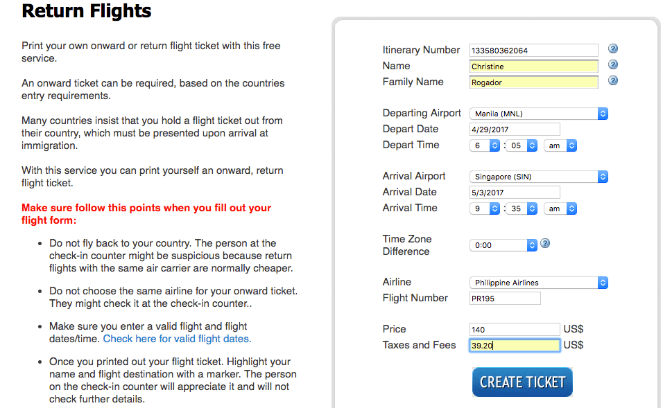How To Create Fake Return Ticket Without Editing Skills The - Fake tax return generator
