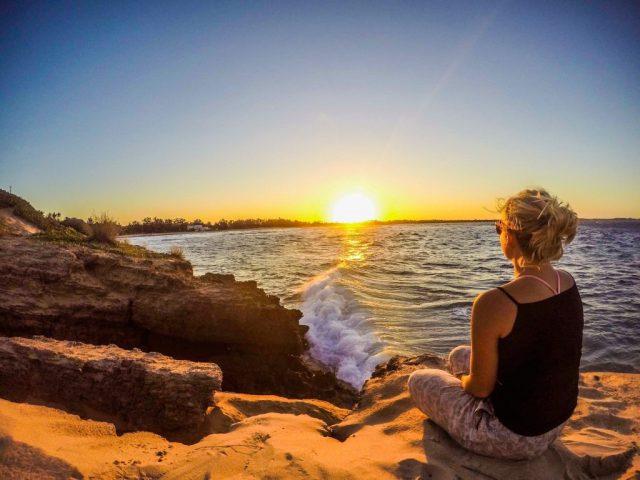 Mozambique Coast Sunset