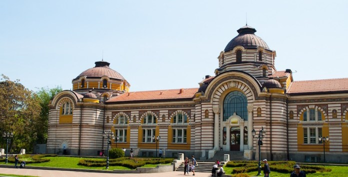 things to do in sofia central mineral bath