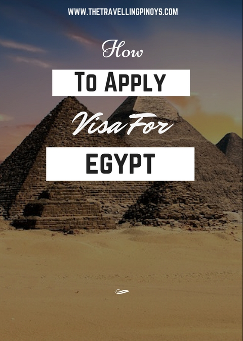 egypt visa requirements