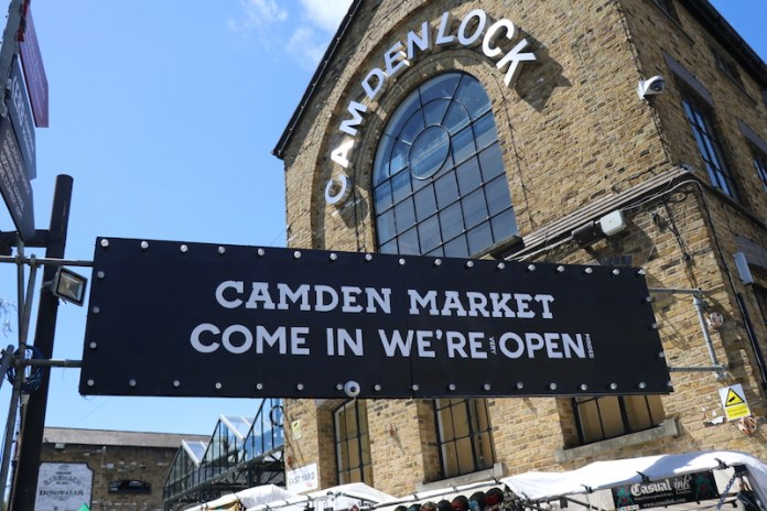 candem market free things to do in london