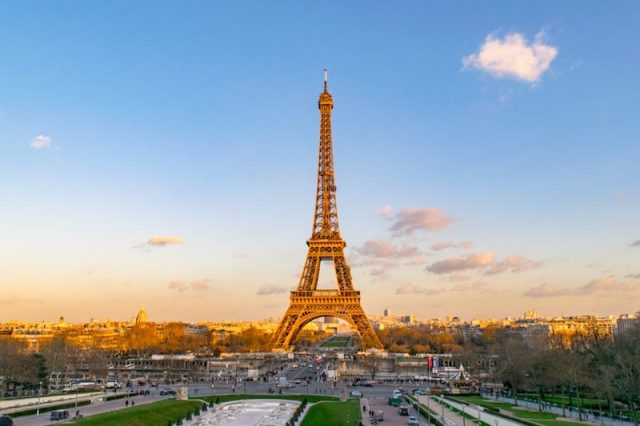 free things to do in paris Trocadero Gardens