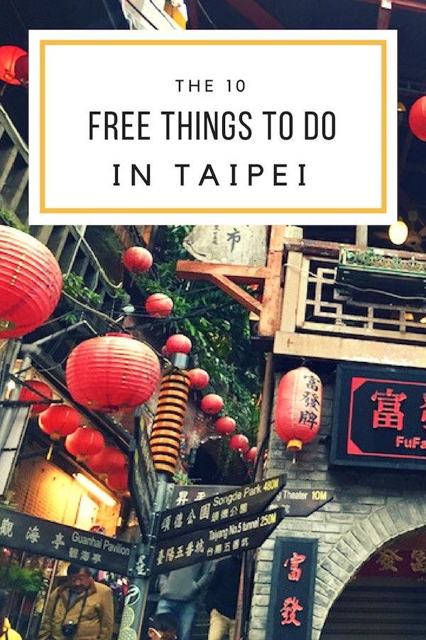 Free Things To Do In Taipei, Taiwan