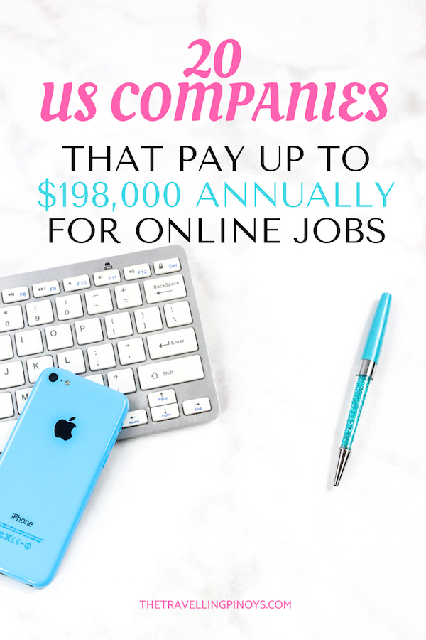 ONLINE JOBS IN THE USA