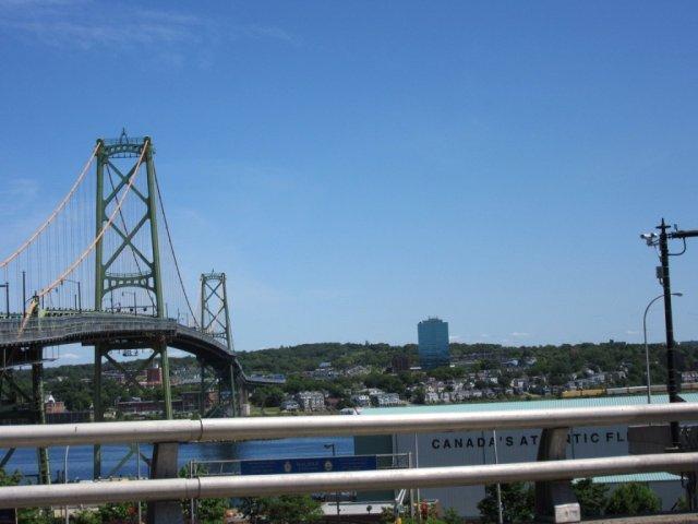 Travel, bridge, Halifax, Nova Scotia, Maritimes, Canada