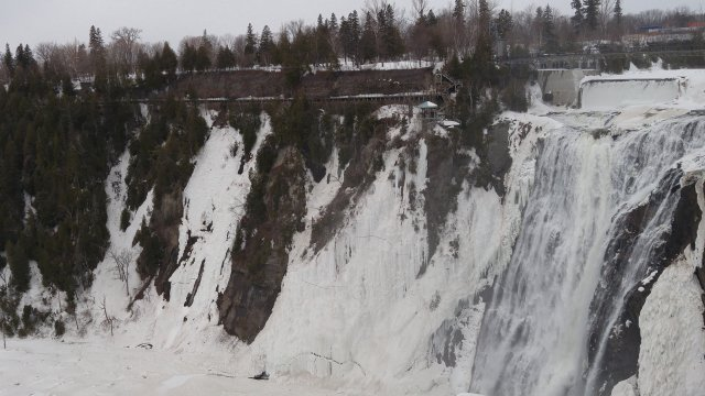 Visit Montmorency Falls in Quebec, Canada