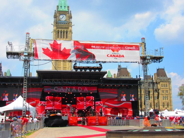 Celebrate Canada Day in Ottawa at Parliament Hill
