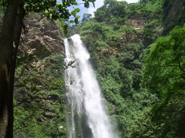 Things to do in Ghana - visit Wli Waterfalls