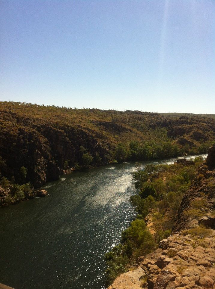 Katherine Gorge on the Adelaide to Darwin road trip