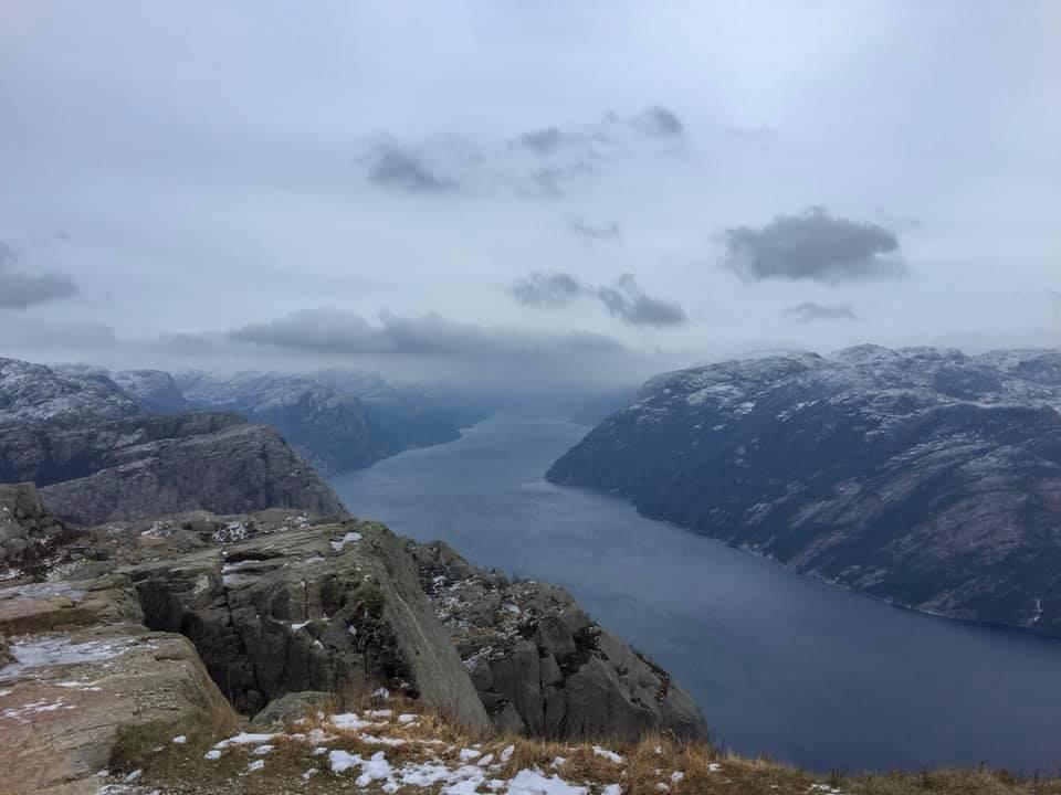 View of Lysefjorden