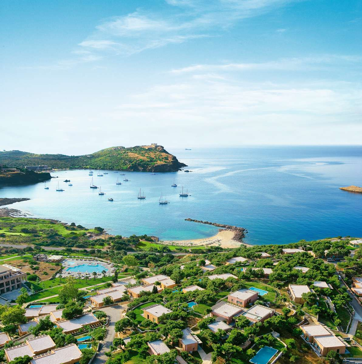 Grecotel Cape Sounio - Aerial view