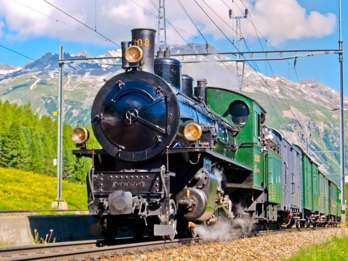 Steam Train  Over the Alps via Gotthard Bernina Circular Tour on the Bernina Express Steam Train 1200x900
