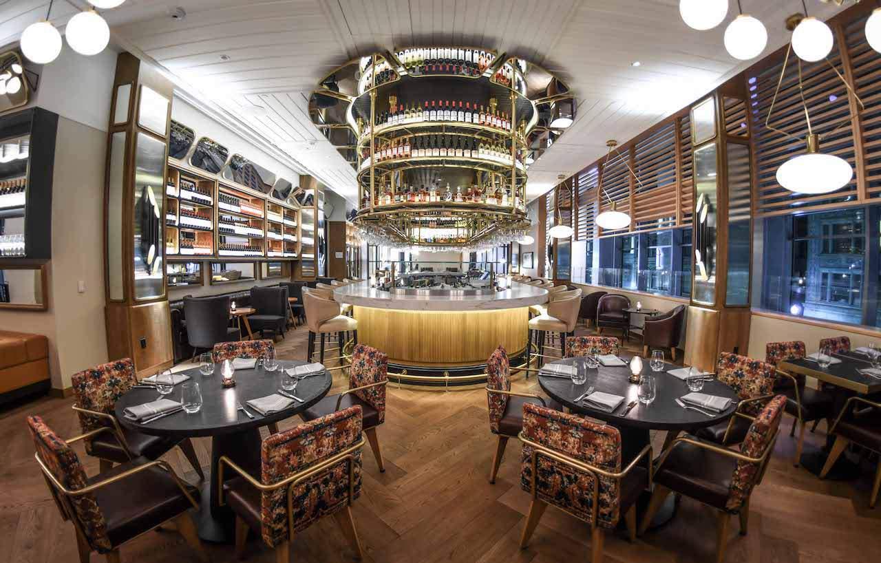 fl.2 Restaurant Fairmont Pittsburgh  Hotel Review: Fairmont Pittsburgh, USA fl