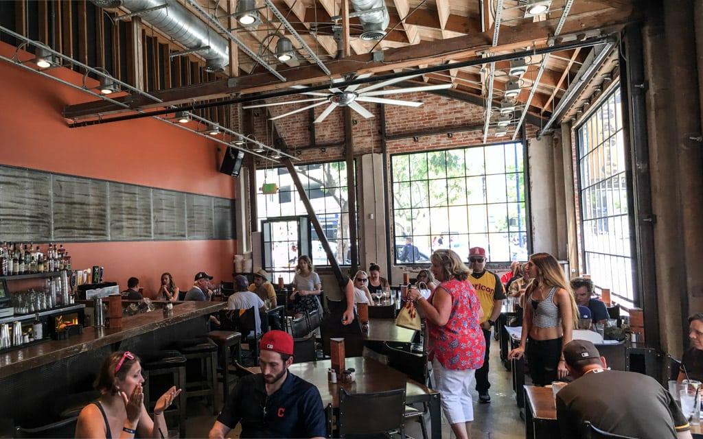 Basic Urban Kitchen And Bar In San Diego CA Brick Oven Pizza