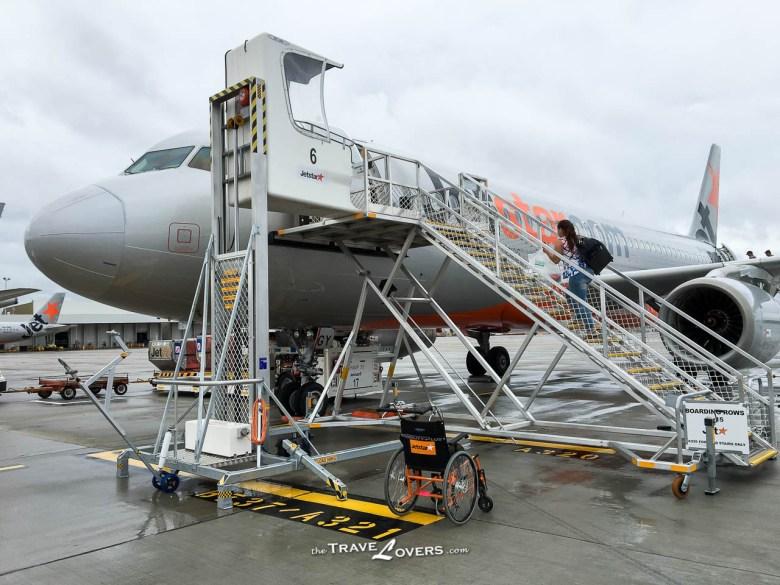 Tasmania Jetstar Flight