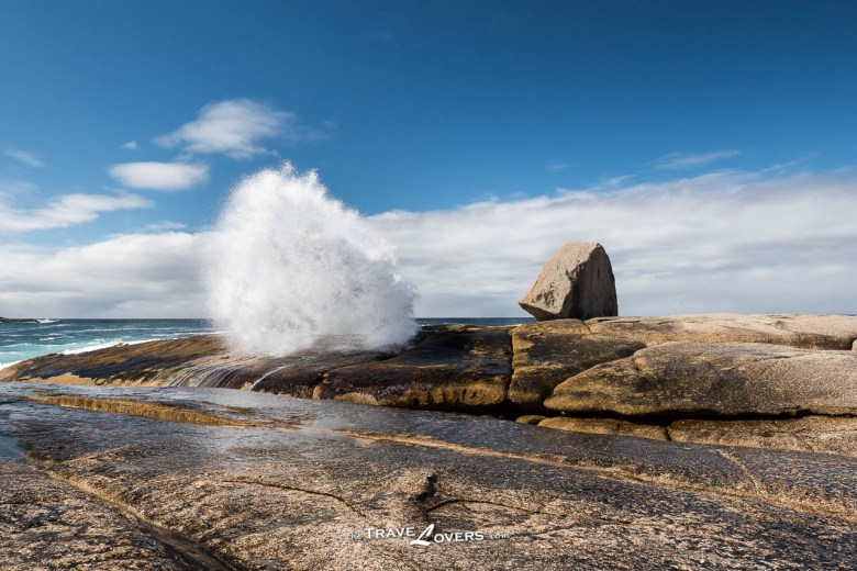 Tasmania Bicheno Blow Hole