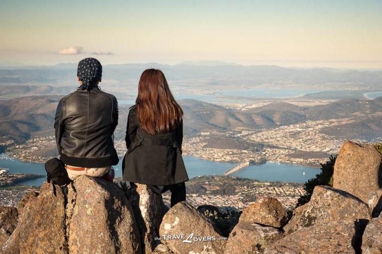 Tasmania Hobart Mount Wellington