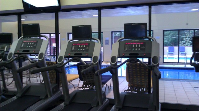 Atlanta Marriott Midtown gym