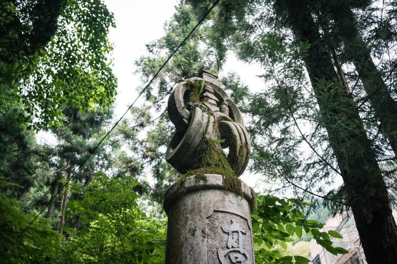 Statue at Mt. Takao