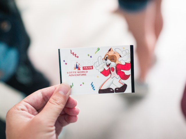 Ticket to Lotte World