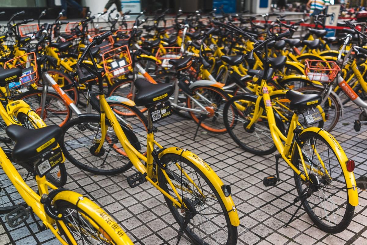 Ofo Bikes in Chengdu